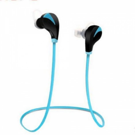 RQ5 Wireless Bluetooth V4.0 Sport Earphones with Micro USB Black & Blue