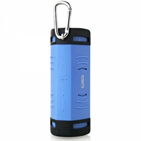 Mammoth ER160 Outdoor Sports Waterproof Dustproof Shockproof Wireless Bluetooth V2.0 + EDR Speaker with Micro USB / 3.5mm Blue