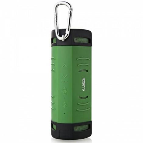 Mammoth ER160 Outdoor Sports Waterproof Dustproof Shockproof Wireless Bluetooth V2.0 + EDR Speaker with Micro USB / 3.5mm Green