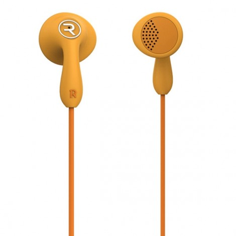 REMAX RM-301 Candy Colorful Dynamic Driver In-Ear Style HIFI Earphone Orange