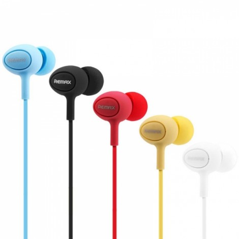 REMAX RM-515 In-ear Music Earphones with Microphone Black