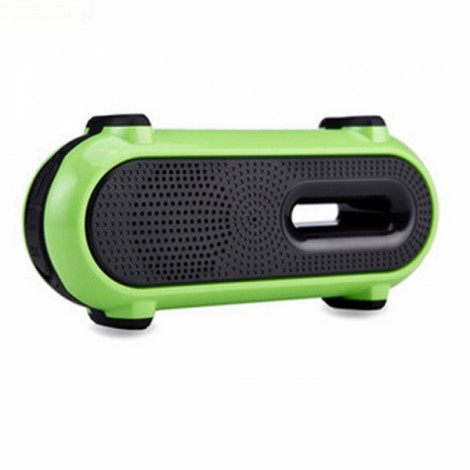 Outdoor Wireless Bluetooth Speaker Black & Green