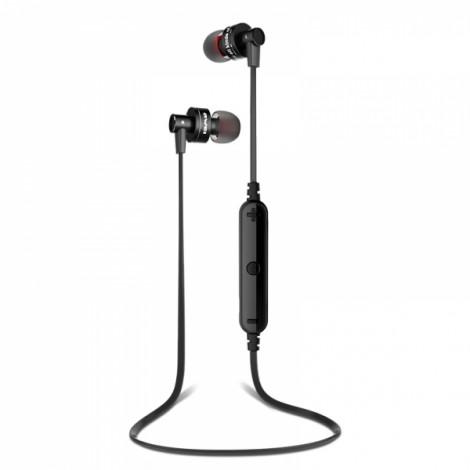 Awei A990BL Noise Isolation 4.0 Bluetooth Waterproof Sport Mic Earphone Black