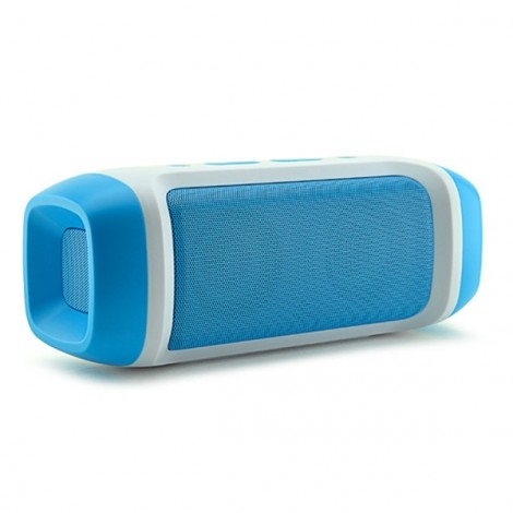 AODASEN JY-23 Stereo FM Radio TF Card AUX Wireless Bluetooth Speaker with Microphone Blue