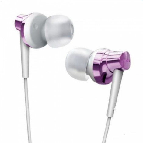 Remax RM575 Earphone In-Ear Stereo Headset with MIC Earbuds for iPhone iPad HTC Android Smart Phones Purple