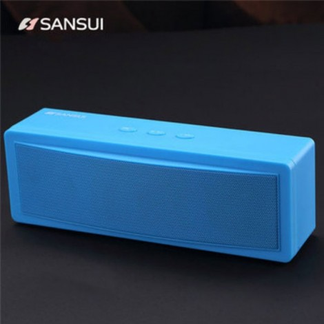 Sansui T18 Wireless Bluetooth Speaker-1200mAh Subwoofer Portable,Blue