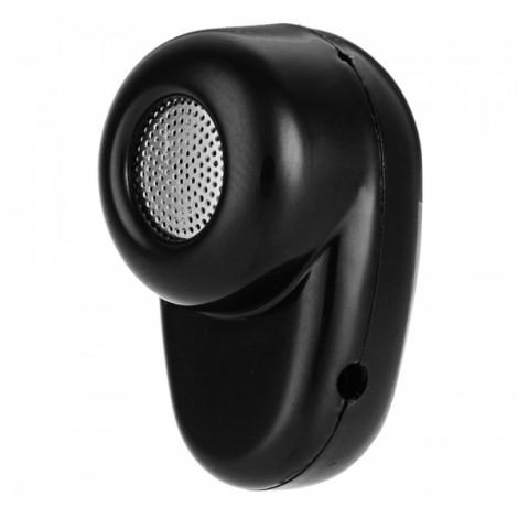 Cwxuan Mini Concealed Bluetooth V4.1 In-Ear Earpiece Music Earphone Black