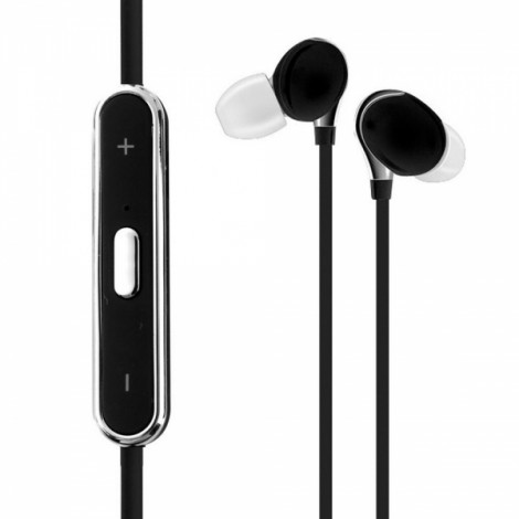 S360S Stereo Bluetooth 4.1 Headset with Mic & Multipoint Black
