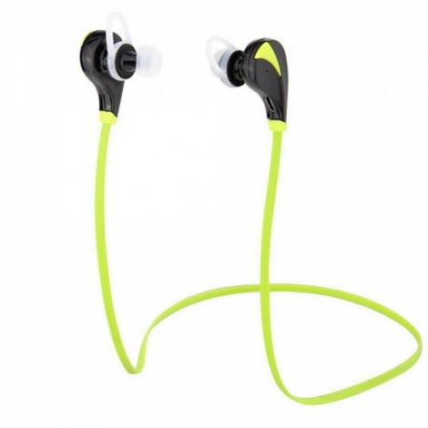 G6 Wireless Stereo Bluetooth 4.1 Headset with Mic & Multipoint Black & Green