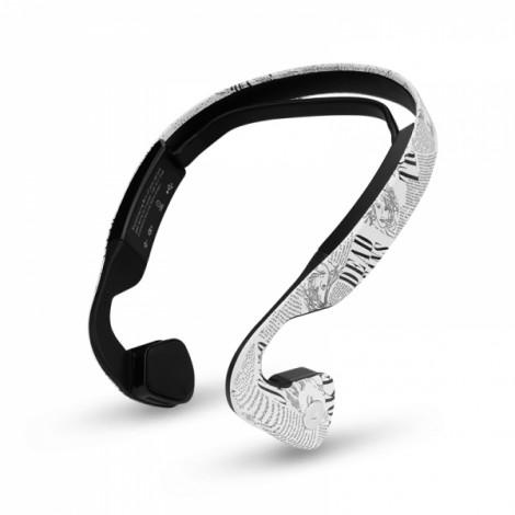 ZB19 Bone Conduction Wireless Bluetooth V4.1 Headset Headphones Black & White