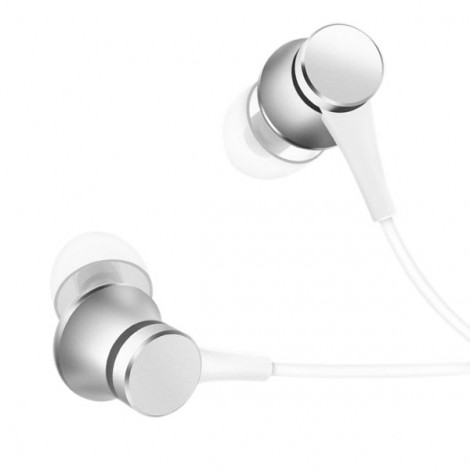 Xiaomi Piston Fresh Edition Wired Control Earphone Headphone with Mic Silver