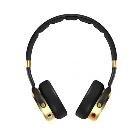 Original Xiaomi Graphene Headphone Portable Foldable HIFI Stereo Headset with Mic Golden