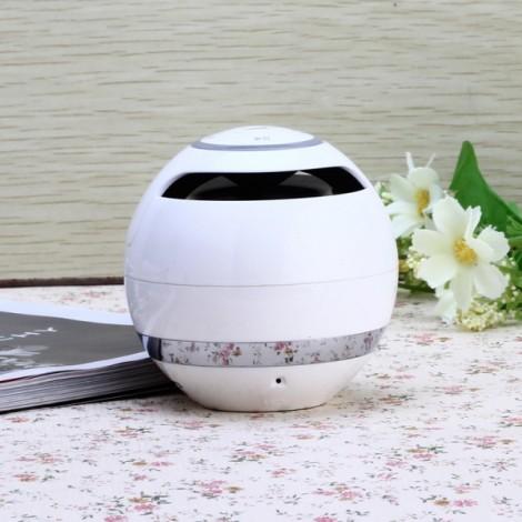 Bluetooth 2.1 Wireless Micro SD Card FM Hands-free Mini Speaker White