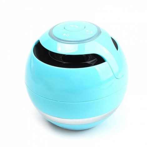 Bluetooth 2.1 Wireless Micro SD Card FM Hands-free Mini Speaker Blue