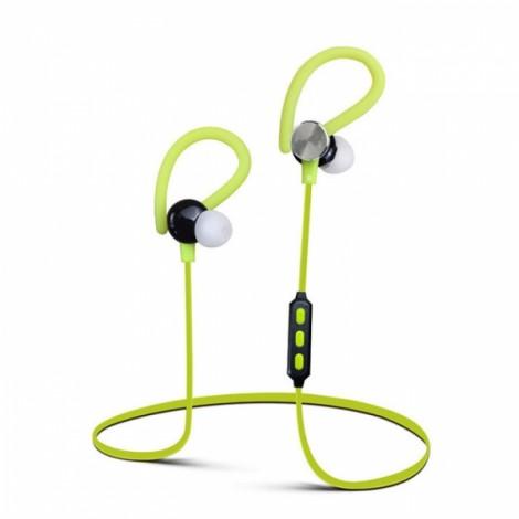 Y622 Wireless Bluetooth 4.1 Earphone with Mic Sports Running Sweatproof Headset Green
