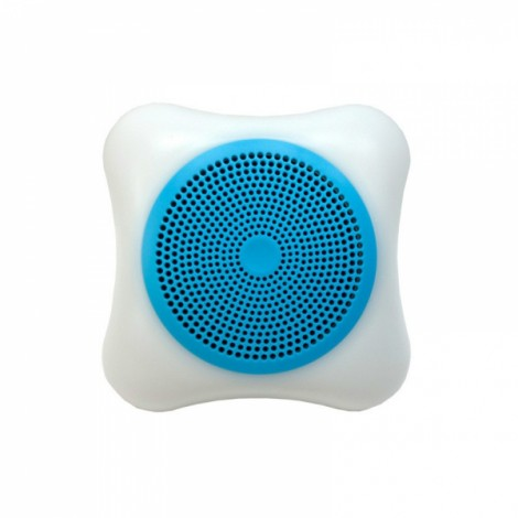Wireless Mobile Phone Bluetooth Speaker LED Colorful Lights Small Portable Outdoor Sound Card Mini Subwoofer Blue