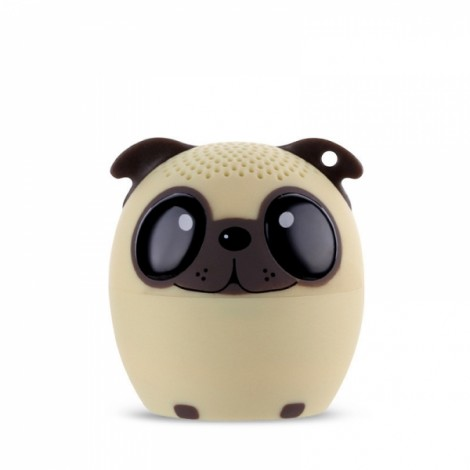 Ultra Mini Cartoon Cute Bluetooth Speaker Outdoor Music Bass Speakers Subwoofer Loudspeakers Support Phone Self Timer & Handsfree Dog Yellow