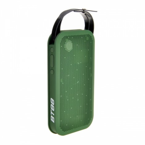HY- BT88 Mobile Portable Hand-held USB Wireless Bluetooth Plug-in Card Speaker Green