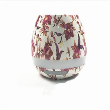 Smart Music Touch Sensor Bluetooth Stereo Piano Sound Music Flower Pot Light Golden Chrysanthemum