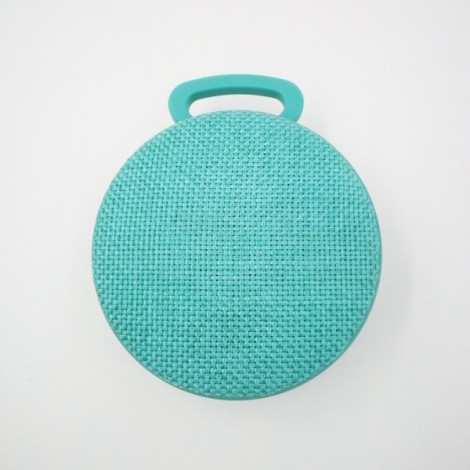 Mini Bluetooth Speaker Portable Wireless Speaker Outdoor Sport Small Volume Big Sound Cloth Speakers Green