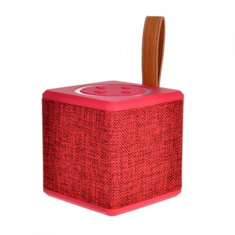 Creative Desk Fabrics Speaker Water-proof Plug-in Card Wireless Speaker Red