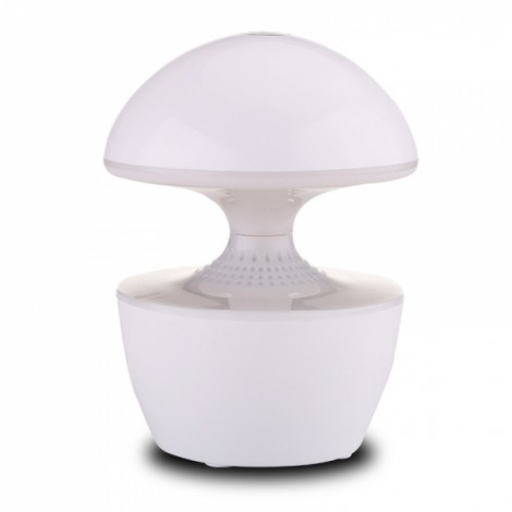 T10 5W USB Powered LED Night Light Touch Dimmable Table Lamp with Speaker design Bluetooth Music Speaker Table Lamp Night Lamp White