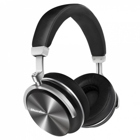 Bluedio T3 Wireless Bluetooth Headphone Headset with Microphone - Black