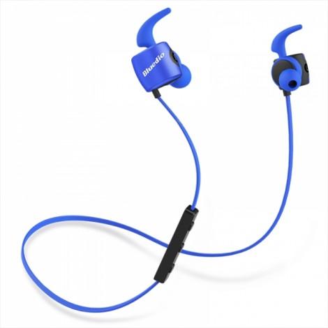Bluedio TE Sport Sweat-resistant In-ear Wireless Bluetooth Earphone Headphone - Blue