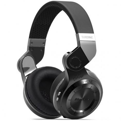 Bluedio T2 Foldable Style Bluetooth V4.1 +EDR Headset Wireless Headset - Black