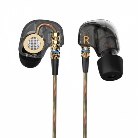 KZ ATE In-ear Heavy Bass HiFi Around Ear Earphone Headphone without Mic