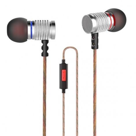 KZ EDR2 3.5mm Metal Heavy Bass In-ear Headphone Clear Sound Music Headphone with Mic