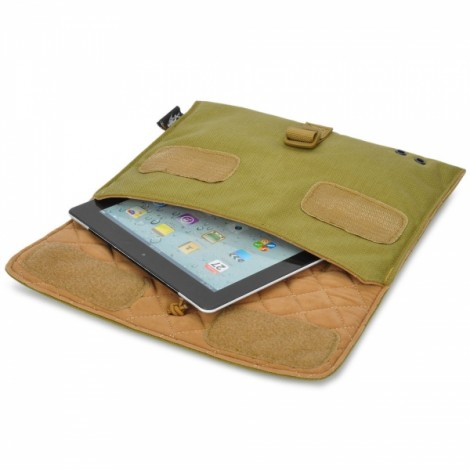 "Free Soldier FS-B15 Shock-proof Protective Dupont Teflon MOLLE System Bag for iPad / 10"" Tablet PC Green"