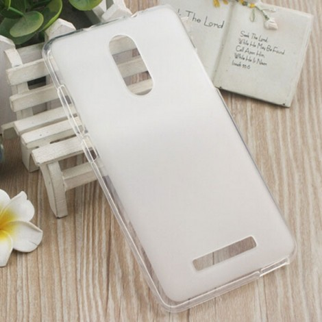 Soft TPU Back Case Cover for Xiaomi Redmi Note 3 White