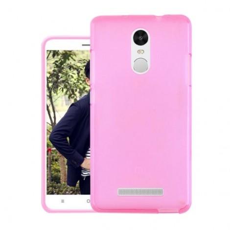 Soft TPU Back Case Cover for Xiaomi Redmi Note 3 Pink