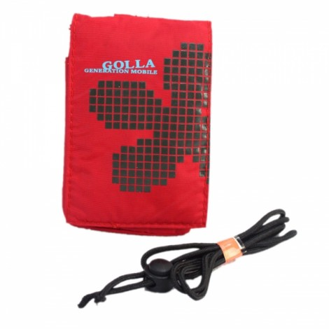 Waterproof Covered Gaimasaike Design Pouch for Cellphone Mp3 Mp4