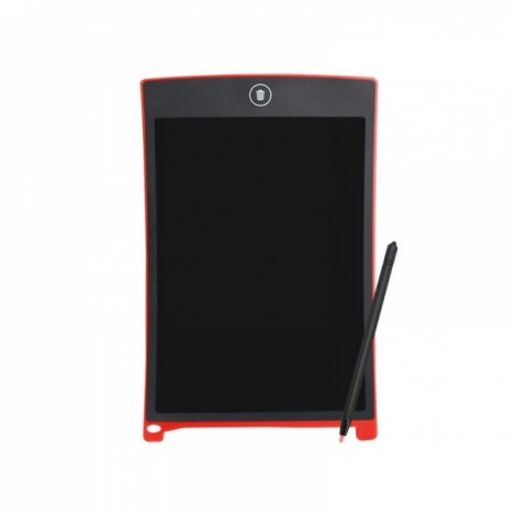 8.5inch LCD Digital Writing Drawing Tablet Handwriting Pad with Pen Red
