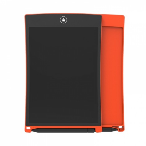 Ultra Thin 8.5 Inch LCD Digital Writing Drawing Tablet With Pen - Orange