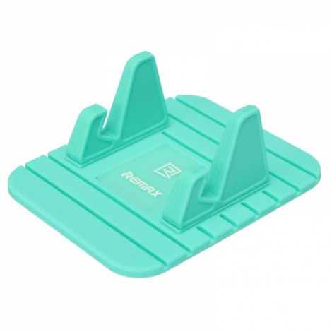 REMAX Fairy Mini Multifunction Soft Silicone Desktop Stand Holder for Phone Green