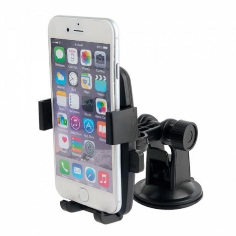 Universal Windshield Dashboard Car Mount Holder for iPhone6/Samsung S6+More Black