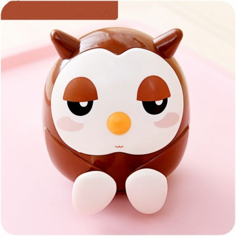 Owl Shape Multifunctional Mobile Phone Stand Holder Piggy Bank Home Decor Coffee
