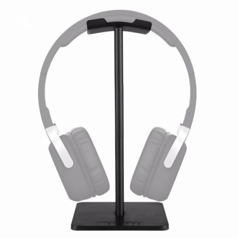 New Bee Lightweight Aluminum Stand for Headphones Black