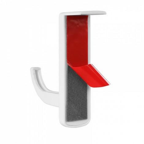 Dedicated Light Weight Headphone Hanger PC Monitor Holder Stand White