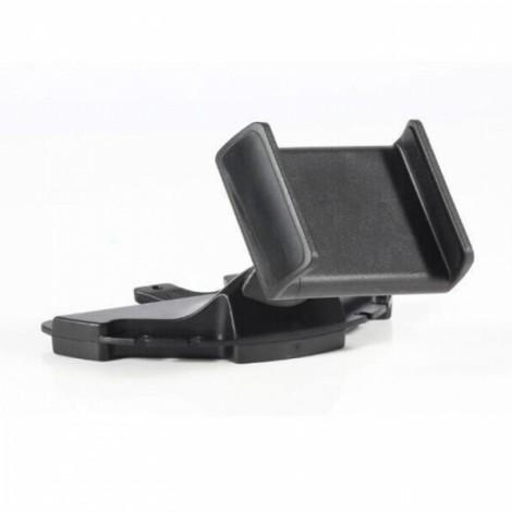 Car CD Slot Mount Holder Cradle for iPhone Samsung HTC Sony LG Nokia Smartphones 5 Inch Black