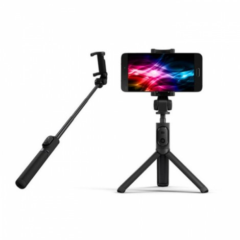 Xiaomi 2-in-1 Bluetooth Mini Extendable Folding Tripod Selfie Stick for Mobile Phone Black