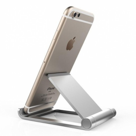 Seenda Metal Phone Tablet Holder - Silver