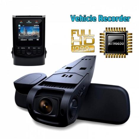 A118C HD 1080P Novatek 96650 Capacitor Battery Car DVR Dash Cam