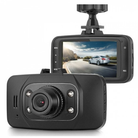 "GS8000L 2.7"" LCD 720P 120-Degree Wide Angle Night Vision Car DVR Recorder Dash Cam Black"