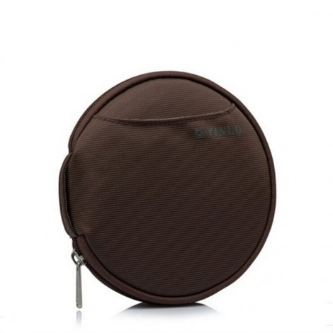 32-Sheet Portable Waterproof Oxford Fabric Disc CD DVD VCD Wallet Storage Organizer Holder Bag Coffee