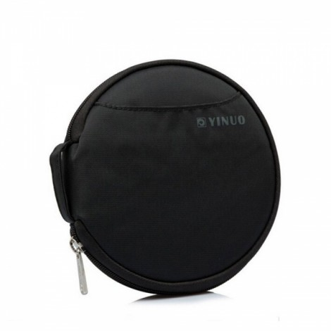 32-Sheet Portable Waterproof Oxford Fabric Disc CD DVD VCD Wallet Storage Organizer Holder Bag Black