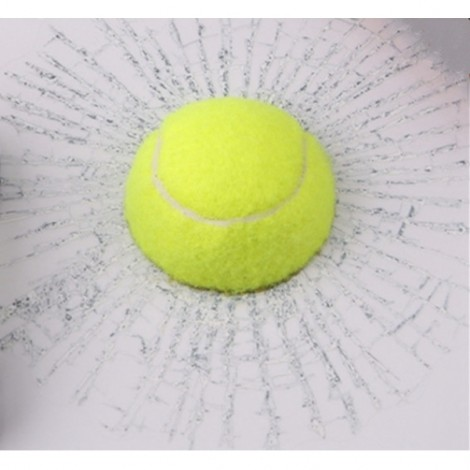 Car Styling 3D Tennis Hits Funny Car Sticker Decal Green